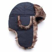 Homens Mulheres Ao Ar Livre Esqui Inverno Cap Quente Russo Faux Fur Chapéu