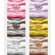 Жемчужный крем с тенями для век с бриллиантами и перламутровым эффектом 6 цветов на выбор