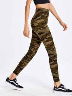 103607aaf7 Designer Camouflage Workout Leggings Fitness Jogging Pants Online ...
