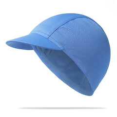 Mens Solid Casual Breathable Sun Cap Outdoor Sports Sweat-absorbent Fast Drying Riding Hat