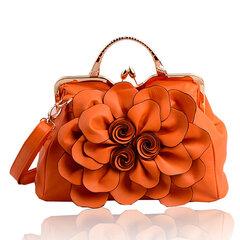 Sacchetto cosmetico della borsa delle donne del fiore della rosa