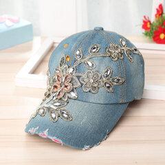 Женское Регулируемая ковбойская шапка с вышивкой