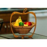 الخيزران طي سلة الفاكهة الرئيسية الإبداعية هدية سلة تخزين الفاكهة