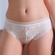 Sexy See Through Lace Embroidered Hollow Panties