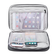 Double-layer Data Cable Storage Bag Digital Accessories USB Drive Gadget Travel