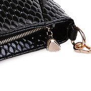 Donne Pu Crocodile Crossbody Borsa Spalla Borsa Shopping Borsa