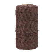 100% Craft Twine Rustic String Natural Cotton Rope Macrame Linen Cord Jute