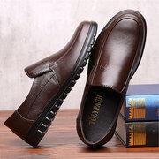 Мужская обувь Pure Color с мягкой подошвой