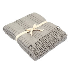 Soft Knitted Throw Blankets Bed Sofa Couch Decorative Fringe Waffle Pattern