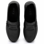 Women Comfy Soft Microfiber Round Toe Slip On Loafers