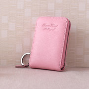 Genuine Leather 9 Colors 11 Card Slots Casual Card Pack Purse For Women