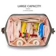 Baby Diaper Nappy Backpack Large Capacity Waterproof Nappy Changing Bag Baby Care Mother Organizer
