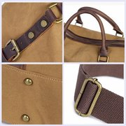 Canvas Large Capacity Handbag Crossbody Bag For Men