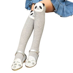 Cotton Comfy Kawaii Style Kids Knee Length Socks Cartoon Animals Sock For 2Y-10Y