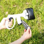 Clip portable pour animaux de compagnie à long manche Pick Up Pelle Pelle Dog Pick Up Clip