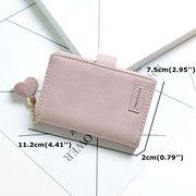 Женское Монета-держатель для бумажника с кисточкой и кисточкой цвета Сумки