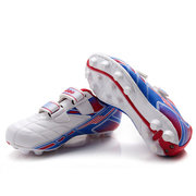 Tiebao Kids Breathable Firm-Ground Long Spikes Soccer Shoes