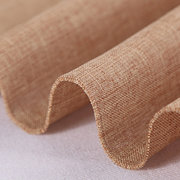 Plain Color Linen Fabric Cloth Curtains Tablecloths DIY Sewing Crafts Use Cloth