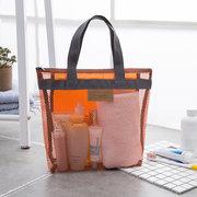 Damen Feste tragbare Reisetasche Aufbewahrungstasche Strandtasche im Freien