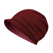 Womens Multifunction Solid Color Stitching Warm Soft Ponytail Beanie Hat Winter Outdoor Beanie Hats