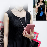 Unisex Multifunction Hand Strap Lanyard Wallet Card Phone Case That Can Be Mounted On The Car