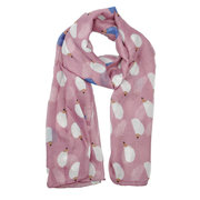 Fashion Summer Women's Animal Hedgehog Print Scarf