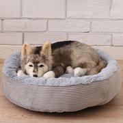 3 colores antiarañazos de invierno cálido mascota cama Kennel perro gato suave felpa cama nido