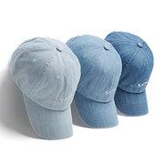 Bordado BKR Hip Hop Gorra de béisbol Denim Azul Algodón Casual Papá Sombrero Camionero Sombrero Para hombres Mujer