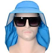 رجل الصيف رقيقة تنفس طوي واسعة حافة قناع دلو قبعة الرياضة في الهواء الطلق المضادة للأشعة فوق البنفسجية قبعة صياد