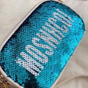 New Season Mini Bag New Sequined Letter Clutch Bag Chain Bag Hombro Messenger Bag