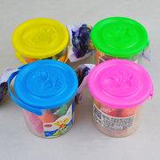 10 piezas hechas a mano de goma de arcilla de cubo de lodo de color del molde conjunto de los niños juguetes educativos