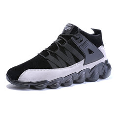 Men High Top Lace Up Sport Casual Sneakers