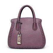 Sac à bandoulière élégant sac à bandoulière en cuir PU couleur pure sac à bandoulière pour les femmes