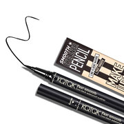Cool Black Eyeliner Waterproof Quickly Dry Eyeliner Long-Lasting Eye Makeup Pen