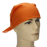 Plain Bandana Head Wear Headband Cotton Scarf Football Dance Headband