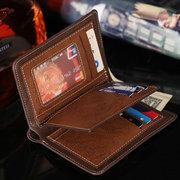 Portafoglio d'epoca 15 porta carte di credito moneta Borsa porta carte di credito per gli uomini