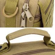 Oxford Outdoor Waterproof Tactics Multifunction Crossbody Bags For Men