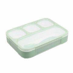 شمالي Style Lunch Box ثلاثة / أربعة شبكات خالية من BFA صندوق تخزين الطعام