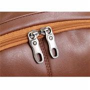 Повседневный Мужской Рюкзак Для Ноутбука Из Искусственной Кожи  Школьная Сумка