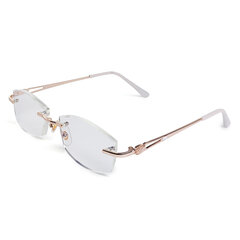 Mujer Vogue Light Resin Metal PC Antifatiga Cómoda computadora Lectura Gafas