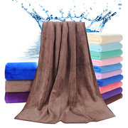 80*180cm Water Absorbing Superfine Fiber Towel Hair Dry Towel Six Optional Color