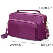 Women Nylon Clutches Bags Functional Phone Bag Crossbody Bag