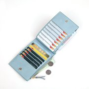 Weave Short-Style Wallet Multi-function Card Package Coin Purse