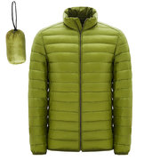 Casual Lightweight Portable Duck Down Jacket Warm Big Size Jacket For Men