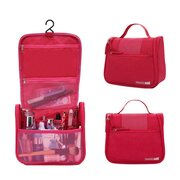 Cation Portable Travel Waterproof Cosmetic Bag Wash Bag With Hook