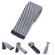 Male Business & Leisure Neckties Twill Plaids Slim Skinny Knitting Narrow Ties