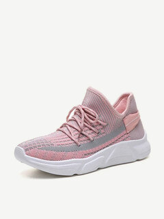 Coconut Shoes Women's Season Wild Breathable Mesh Sports Running Shoes Small White Shoes Women's Casual Shoes Tide