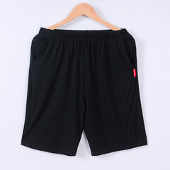 Loose Soft Comfortable Shorts Pure Color Knee Length Modal Pajamas for Men