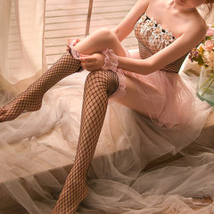 Princess Fishnet See Through Cute Nightdress Stockings