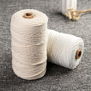 3mm 200M Macrame Cotton Rope Cord DIY Tools Strings for Home Deco Garden